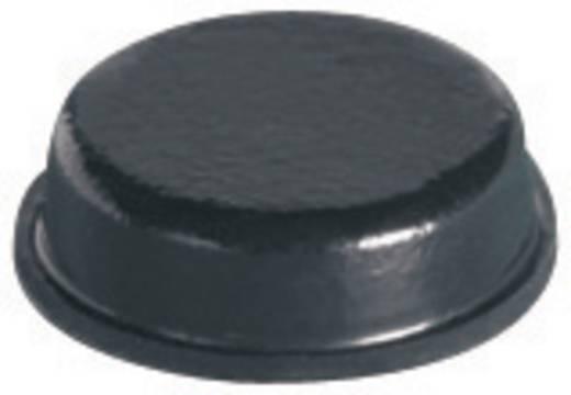 Gerätefüße selbstklebend, rund Schwarz (Ø x H) 9.5 mm x 3.2 mm PB Fastener BS-34-BK-R-12 12 St.