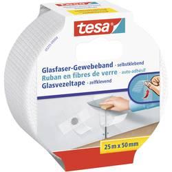 Páska so skleným vláknom tesa 05255-00004-00 05255-00004-00, (d x š) 25 m x 50 mm, biela, 1 ks
