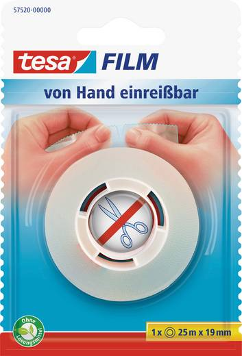 Klebeband TESA Transparent (L x B) 25 m x 19 mm Inhalt: 1 Rolle(n)