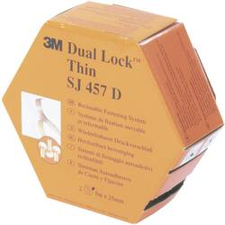 Lepicí pásek se suchým zipem 3M SJ 457D Dual Lock 7000070534, (d x š) 5000 mm x 25 mm, průsvitná, 5 m