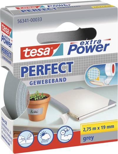Gewebeklebeband TESA tesa® Extra Power Grau (L x B) 2.75 m x 19 mm Kautschuk Inhalt: 1 Rolle(n)