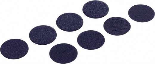 Klettpunkte zum Aufkleben Haft- und Flauschteil (Ø) 19 mm Weiß Fastech 685-010 4 Paar