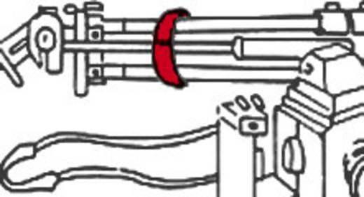 Klettband zum Bündeln Haft- und Flauschteil (L x B) 1000 mm x 20 mm Rot Fastech 910-530C 1 m
