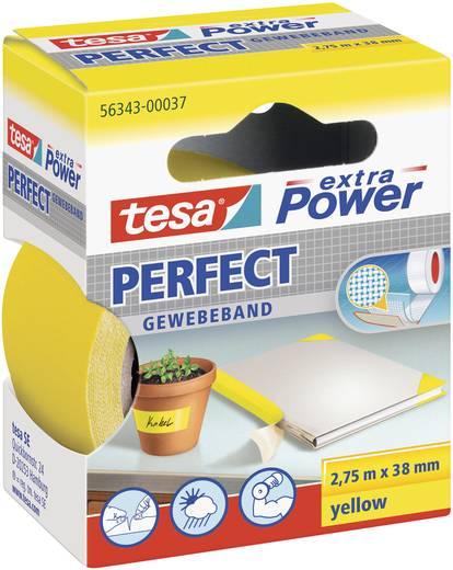 Gewebeklebeband tesa tesa® Extra Power Gelb (L x B) 2.75 m x 38 mm Kautschuk Inhalt: 1 Rolle(n)