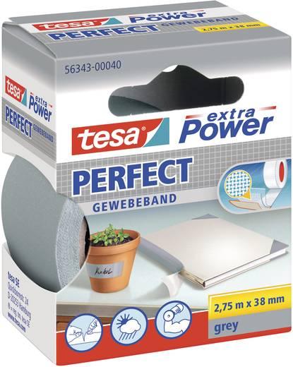 Gewebeklebeband tesa® Extra Power Grau (L x B) 2.75 m x 38 mm tesa 56343-40-2 1 Rolle(n)