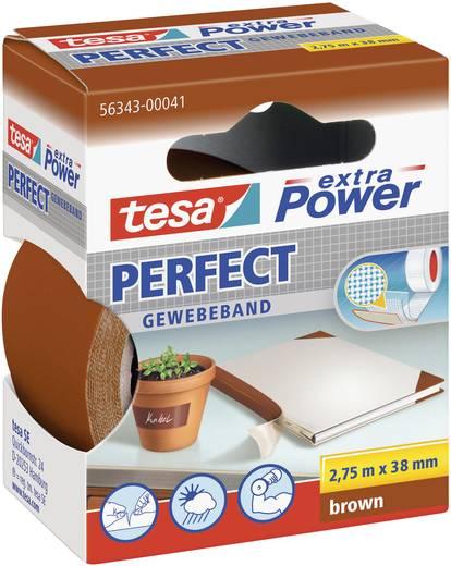 Gewebeklebeband tesa® Extra Power Braun (L x B) 2.75 m x 38 mm tesa 56343-41-2 1 Rolle(n)