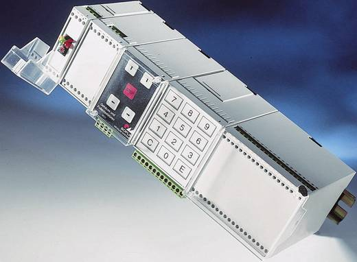 Combinorm-Gehäuse Deckel Transparent 22.5 x 75 x 109.5 ABS Grau (RAL 7035) Bopla COMBINORM CN 22 AK 1 St.