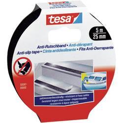 Anti-slip tape tesa 55587-2-0 55587-2-0, (d x š) 5 m x 25 mm, ester kyseliny polyakrylovej, čierna, 1 ks