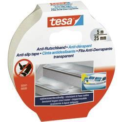 Anti-slip tape tesa 55587-0-0 55587-0-0, (d x š) 5 m x 25 mm, ester kyseliny polyakrylovej, priehľadná, 1 ks