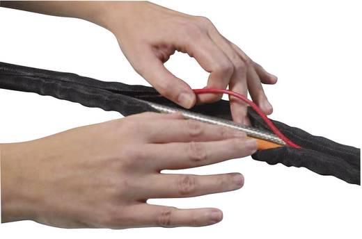 HellermannTyton 170-01018 Twist-In 38 Geflechtschlauch Schwarz Polyester 32 bis 38 mm 2 m