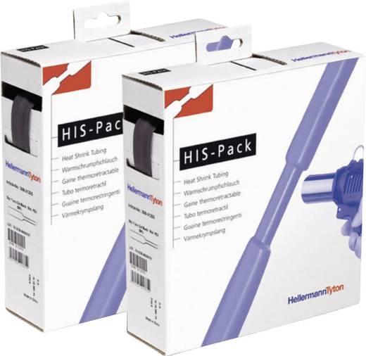 HellermannTyton 300-31270 Schrumpfschlauch ohne Kleber Schwarz 12.70 mm Schrumpfrate:2:1 5 m