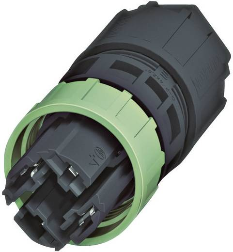 Leitungsverbinder-QUICKON Pole: 3 + PE 20 A 1582205 Phoenix Contact 1 St.