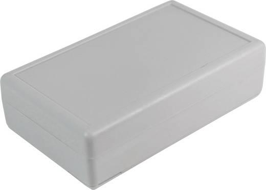 Tisch-Gehäuse 90 x 55 x 25 ABS Grau-Weiß (RAL 7035) Axxatronic CRDCG0001-CON 1 St.