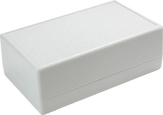Tisch-Gehäuse 190 x 120 x 60 ABS Grau-Weiß (RAL 7035) Axxatronic CRDCG0007-CON 1 St.
