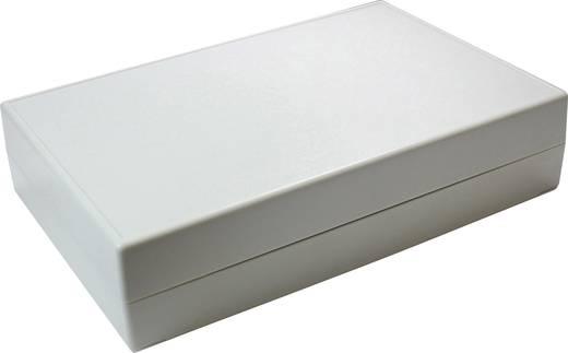 Tisch-Gehäuse 220 x 145 x 50 ABS Grau-Weiß (RAL 7035) Axxatronic CRDCG0008-CON 1 St.