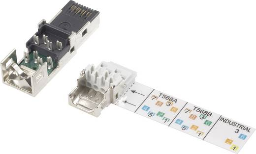 Sensor-/Aktor-Steckverbinder, unkonfektioniert Buchse, gerade Polzahl: 8P8C Metz Connect 1401465010ME 1 St.