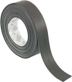 Ruban adhésif magnétique S513-1850 Conrad Components 393809 noir (L x l) 1.8 m x 50 mm 1 rouleau(x)