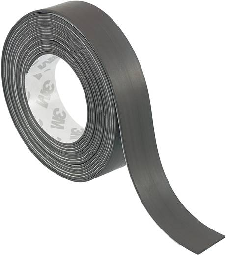 Magnetklebeband S513-1850 Schwarz (L x B) 1.8 m x 50 mm Conrad Components 393809 1 Rolle(n)