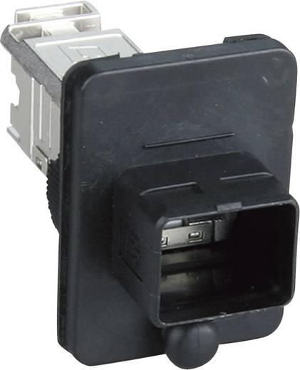 Metz Connect 1401143312KE Sensor-/Aktor-Steckverbinder, unkonfektioniert RJ45 Geräteflansch Polzahl: 8P8C 1 St.