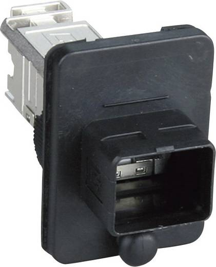RJ45 Industrie-Einbaubuchse IP67 V4 1401143312KE Metz Connect Inhalt: 1 St.