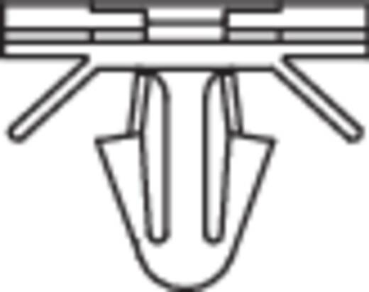 KSS 541825 PHC-1509 Kabelhalter mit Lamellenfuß Natur 1 St.