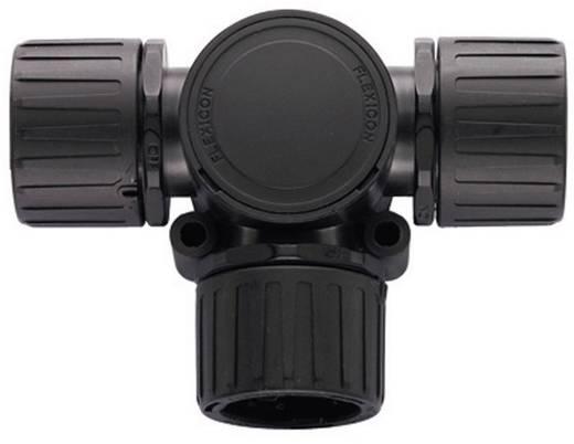 T-Verteiler Schwarz 20 mm, 20 mm, 20 mm HellermannTyton 166-24801 HG20 1 St.