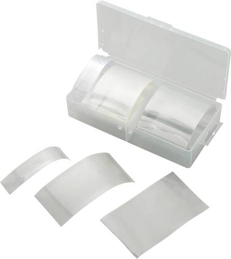 Akkuschrumpfschlauch ohne Kleber Transparent Schrumpfrate:2:1 Conrad Components 542395 SI-105 1 Set