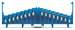 Borne de répartition WAGO 727-123/004-000 7.62 mm ressort de traction Affectation des prises: N bleu 25 pc(s)