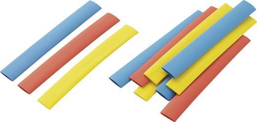 Schrumpfschlauchsortiment Bunt 9.50 mm Schrumpfrate:2:1 Conrad Components 542449 RPS8
