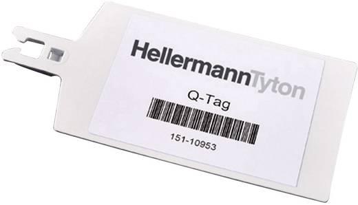 Leitermarkierer Beschriftungsfläche: 70 x 18 mm Weiß HellermannTyton QT7016R 151-10950 1 St.