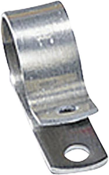 Befestigungsschelle Aluminium mit Chloropren-Schutzprofil  HellermannTyton Inhal