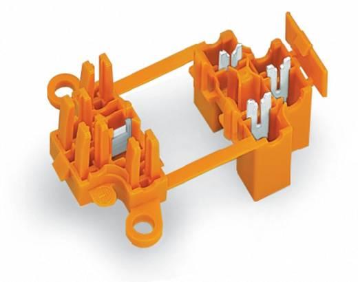Verbindungsklemme starr: 0.75-1.5 mm² Polzahl: 3 WAGO 50 St. Orange