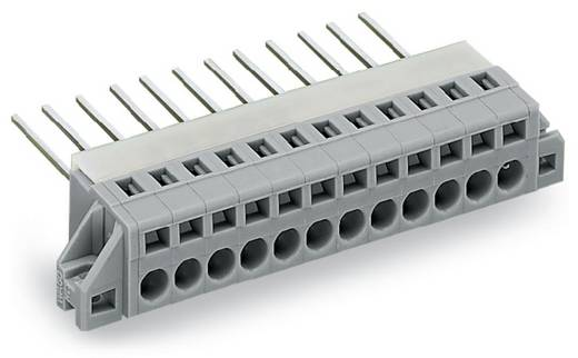 Federkraftklemmblock 2.50 mm² Polzahl 10 731-140/048-000 WAGO Grau 10 St.