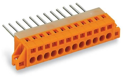 Federkraftklemmblock 2.50 mm² Polzahl 9 WAGO Orange 25 St.