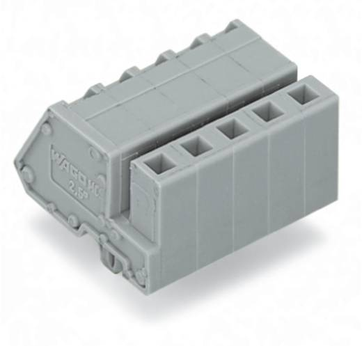 WAGO Buchsengehäuse-Kabel 731 Polzahl Gesamt 6 Rastermaß: 5 mm 731-506/008-000 50 St.