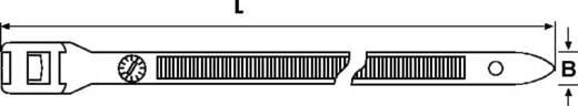 Kabelbinder 180 mm Schwarz für Schwerlastanwendung, UV-stabilisiert, Hitzestabilisiert HellermannTyton 112-18060 PE180-H