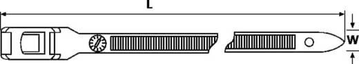 Kabelbinder 350 mm Schwarz für Schwerlastanwendung, UV-stabilisiert, Hitzestabilisiert, Lösbar HellermannTyton 112-35060