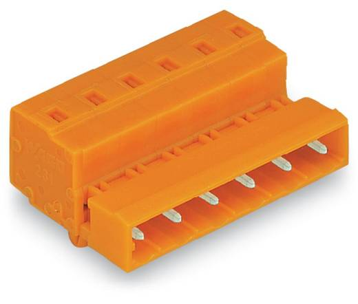 Stiftleiste (Standard) 2081 Polzahl Gesamt 4 WAGO 731-634/018-000 Rastermaß: 7.62 mm 50 St.