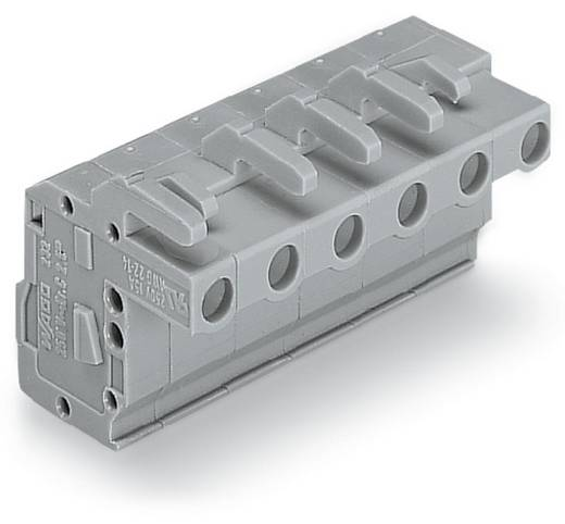 WAGO Buchsengehäuse-Kabel 732 Polzahl Gesamt 11 Rastermaß: 7.50 mm 732-111/026-000 25 St.