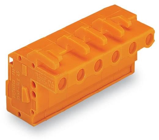 WAGO Buchsengehäuse-Kabel 732 Polzahl Gesamt 11 Rastermaß: 7.62 mm 732-131/026-000 25 St.