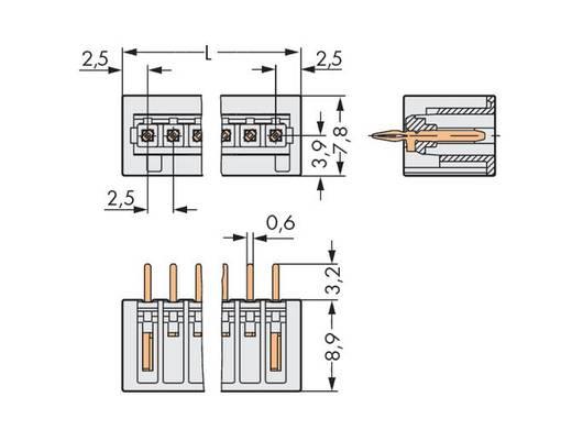 WAGO Stiftleiste (Standard) 2092 Polzahl Gesamt 4 Rastermaß: 2.50 mm 733-334/100-000 200 St.