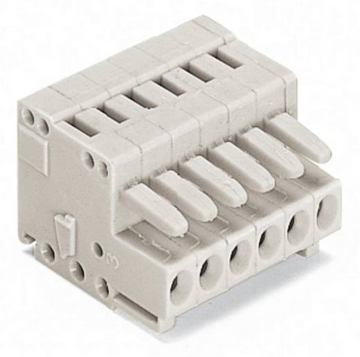 Buchsengehäuse-Kabel 734 Polzahl Gesamt 16 WAGO 734-116 Rastermaß: 3.50 mm 25 St.