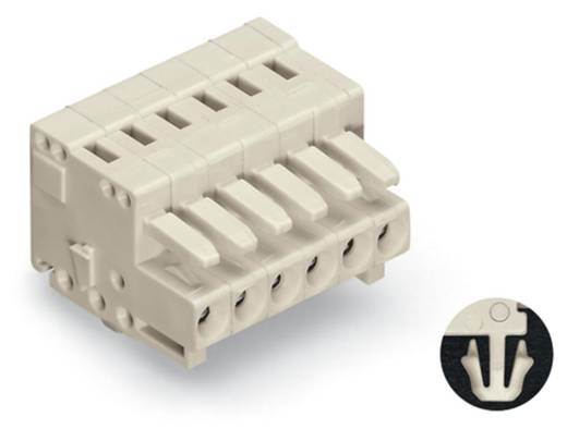 Buchsengehäuse-Kabel 734 Polzahl Gesamt 10 WAGO 734-110/008-000 Rastermaß: 3.50 mm 50 St.