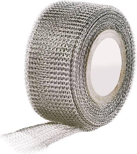 Gewebeklebeband HellermannTyton Metall (L x B) 4.6 m x 25 mm Kautschuk Inhalt: 1 Rolle(n)