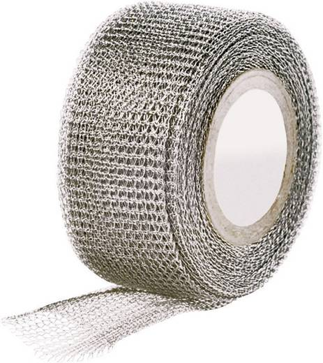 Gewebeklebeband Metall (L x B) 4.6 m x 25 mm HellermannTyton 711-10002 1 Rolle(n)