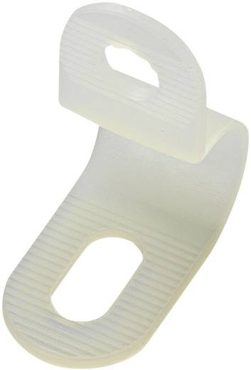 Befestigungsschelle schraubbar Weiß KSS 543545 PC-0406 1 St.