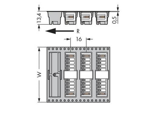 WAGO Stiftleiste (Standard) 2140 Polzahl Gesamt 9 Rastermaß: 3.50 mm 734-169/105-604/997-407 280 St.