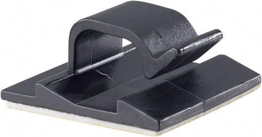 Kabelclip selbstklebend Schwarz PB Fastener 5433-SW 1 St.