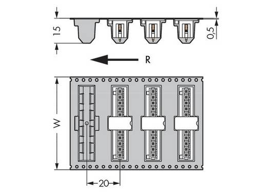 WAGO 734-235/105-604/997-407 Stiftleiste (Standard) 2140 Polzahl Gesamt 5 Rastermaß: 3.81 mm 200 St.