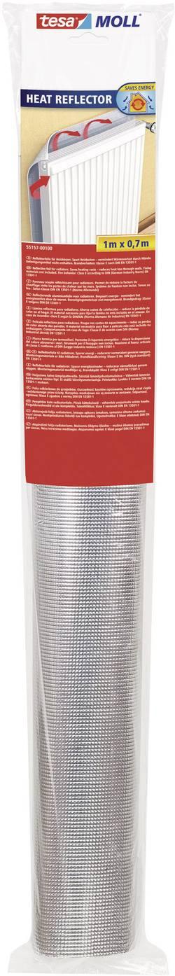 Odrazová fólia za kúrenie tesa strieborná (d x š) 1 m x 700 mm obsahuje: 1 roliek